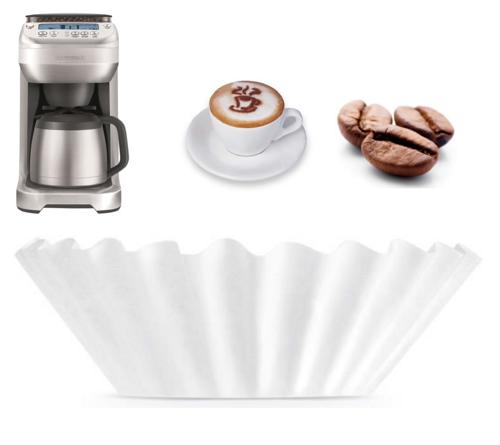Papper kaffefilter 200 stk. Till Gastroback 42712.